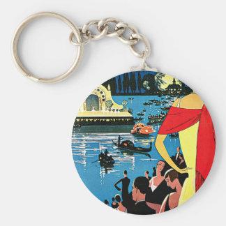 Vichy Comite Des Fetes France Travel Art Keychain