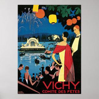 Vichy Comite Des Fetes Poster