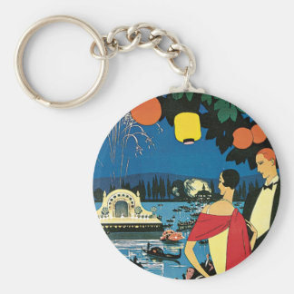Vichy France Comite Des Fetes Art 1926 Nightlight Keychains