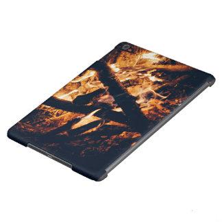 vicinity flaming campfire iPad air case