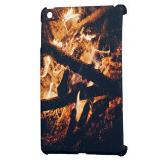 vicinity flaming campfire iPad mini case