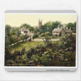 Vicinity of Newland Church, Monmouth, England rare Mousepads