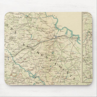 Vicinity Richmond, Va, Peninsula Mouse Pad