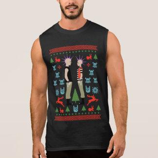 Vicious Christmas Sleeveless Shirt