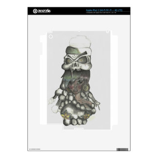 Vicious Girl iPad 3 Skin