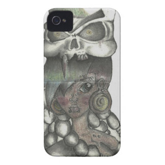 Vicious Girl iPhone 4 Case-Mate Cases