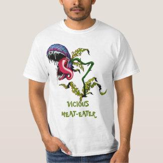 VICIOUS MEAT-EATER: CARNIVOROUS PLANT T-Shirt