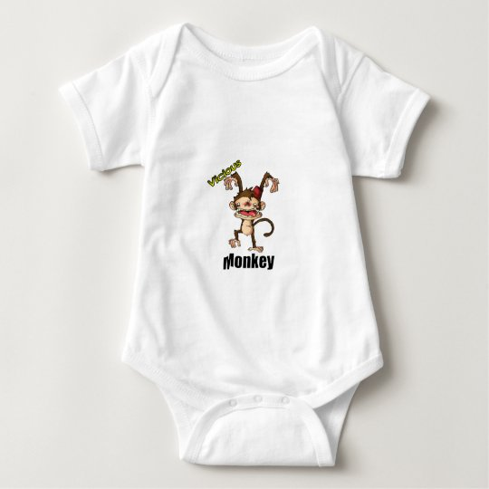 Vicious Monkey Baby Bodysuit