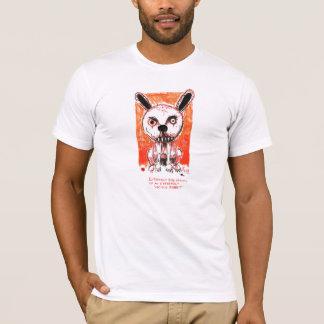 Vicious Rabbit by Ian Miller T-Shirt