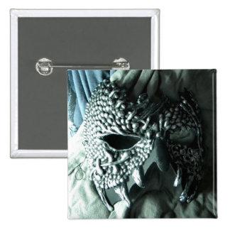 Vicious Silver Button