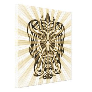Vicious Tribal Mask 008 Canvas Print