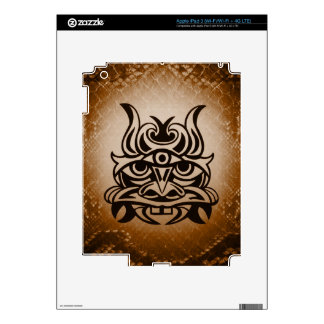 Vicious Tribal Mask ,snakeskin 005 Decals For iPad 3