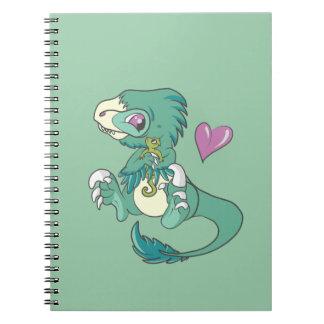 Vicious Velociraptor! Notebook