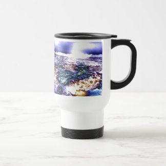 Vicious Waves 15 Oz Stainless Steel Travel Mug