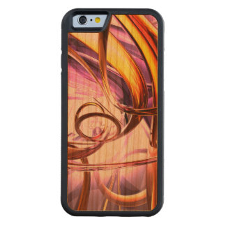 Vicious Web Abstract Carved® Cherry iPhone 6 Bumper