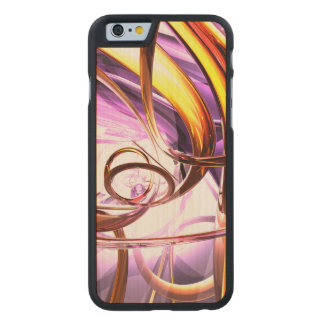 Vicious Web Abstract Carved® Maple iPhone 6 Slim Case