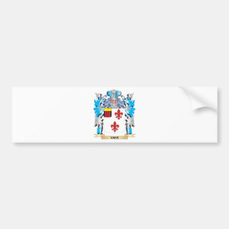 Vick Coat of Arms - Family Crest Car Bumper Sticker