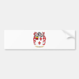 Vick Family Crest (Coat of Arms) Car Bumper Sticker