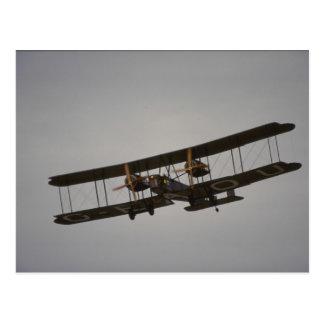 Vickers Vimy, bombardero de WWI Postal