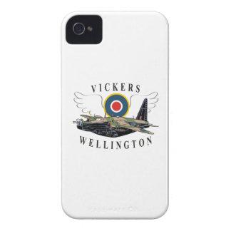 Vickers Wellington Carcasa Para iPhone 4