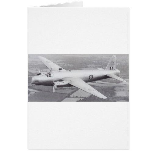Vickers Wellington Card