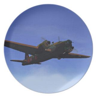 Vickers Wellington Plane Plate
