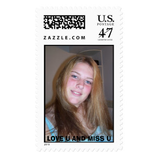 VICKI, LOVE U AND MISS U POSTAGE