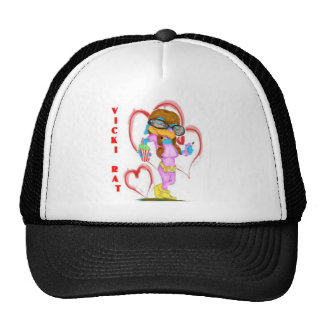 VICKI RAT TRUCKER HAT