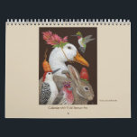 "Vicki Sawyer Art calendar<br><div class=""desc"">Birds and animals with whimsical hats and masks</div>"