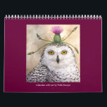 """Vicki Sawyer Art calendar<br><div class=""""desc"""">birds and animals fancifully attired to greet you each day</div>"""