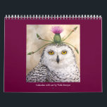 "Vicki Sawyer Art calendar<br><div class=""desc"">birds and animals fancifully attired to greet you each day</div>"