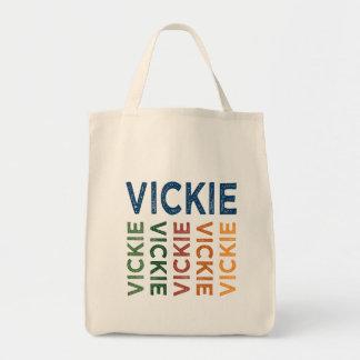 Vickie Cute Colorful Tote Bag