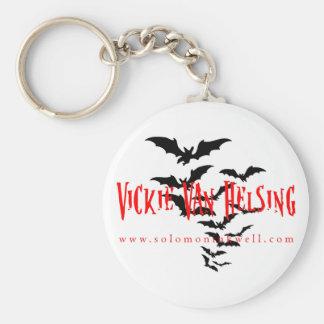 Vickie Van Helsing Key Llavero Redondo Tipo Pin