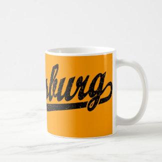 Vicksburg_d_black distressed coffee mug