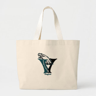 Vicksburg Eagles Football Tote Bag