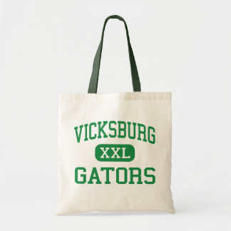 Vicksburg - Gators - High - Vicksburg Mississippi Canvas Bags
