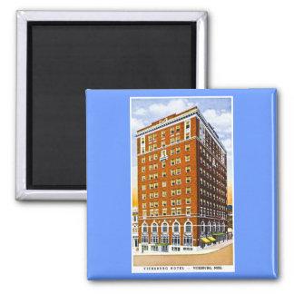 Vicksburg Hotel, Vicksburg, Mississippi Fridge Magnets