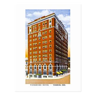 Vicksburg Hotel, Vicksburg, Mississippi Postcard