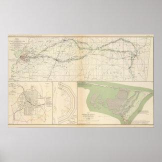 Vicksburg Meridian, Miss Poster