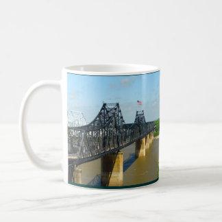Vicksburg, Mississippi Iron River Bridge in Color Classic White Coffee Mug