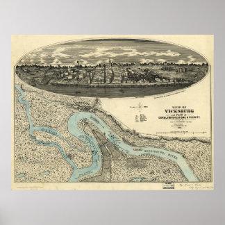 Vicksburg Poster