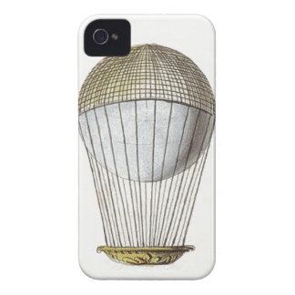 Vicotorian Hot Air Balloon iPhone 4 Cover