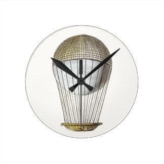 Vicotorian Hot Air Balloon Clocks