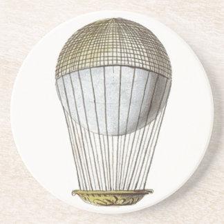 Vicotorian Hot Air Balloon Beverage Coasters