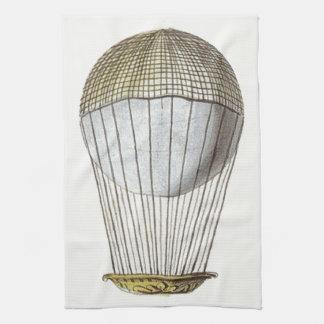 Vicotorian Hot Air Balloon Hand Towels