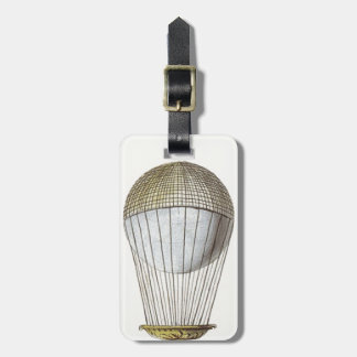 Vicotorian Hot Air Balloon Tags For Luggage