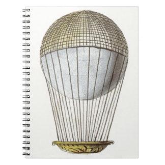 Vicotorian Hot Air Balloon Notebook