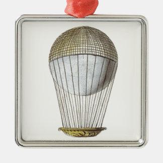 Vicotorian Hot Air Balloon Christmas Tree Ornament