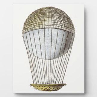 Vicotorian Hot Air Balloon Photo Plaque