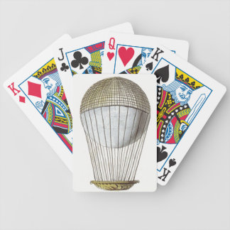 Vicotorian Hot Air Balloon Deck Of Cards